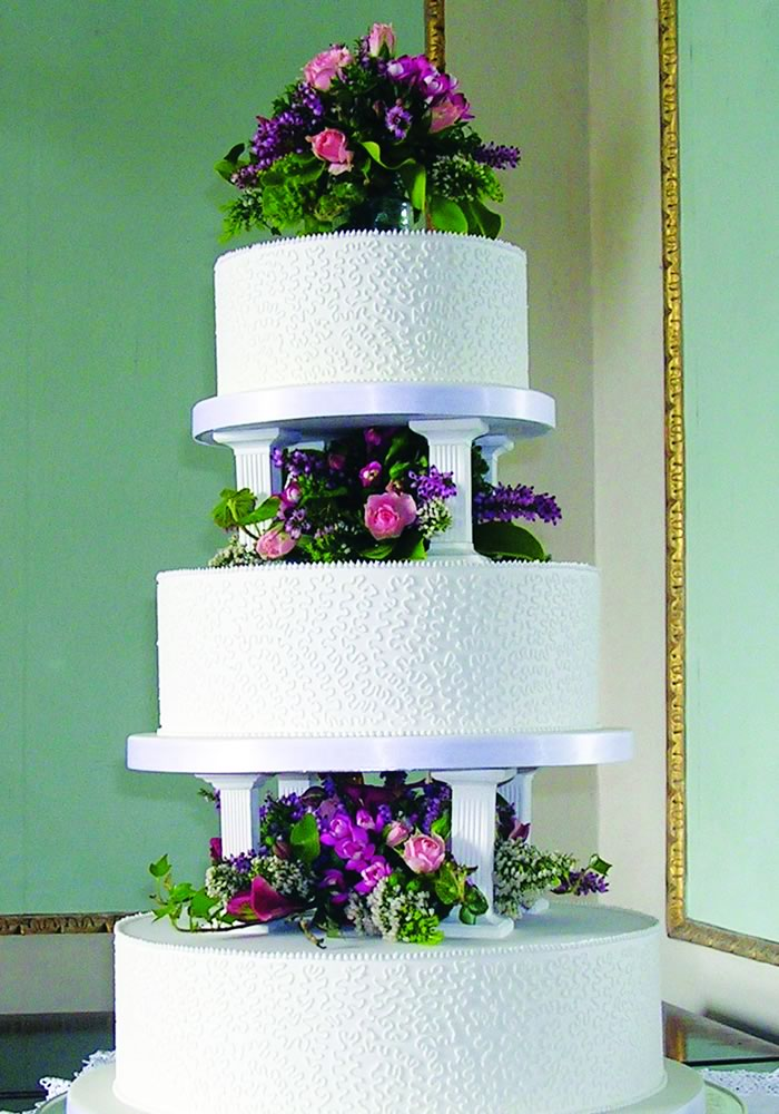 Three-Tiered Wedding Cake - Wedding Cake Tiers, Sizes and Servings: Everything You Need to Know