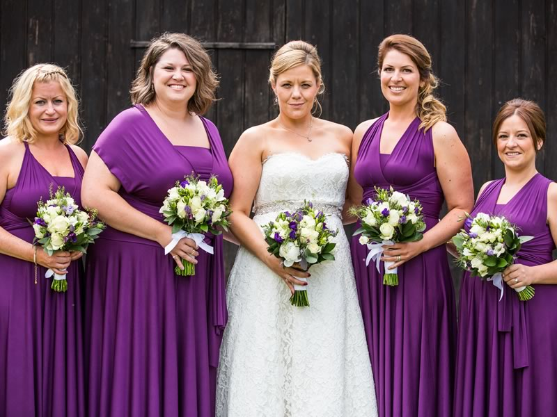 Katie and Dean tie the knot in a relaxed country wedding