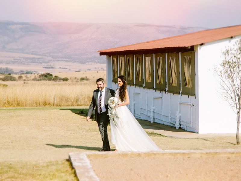 Nicci and Vaughn's boho-chic wedding 1