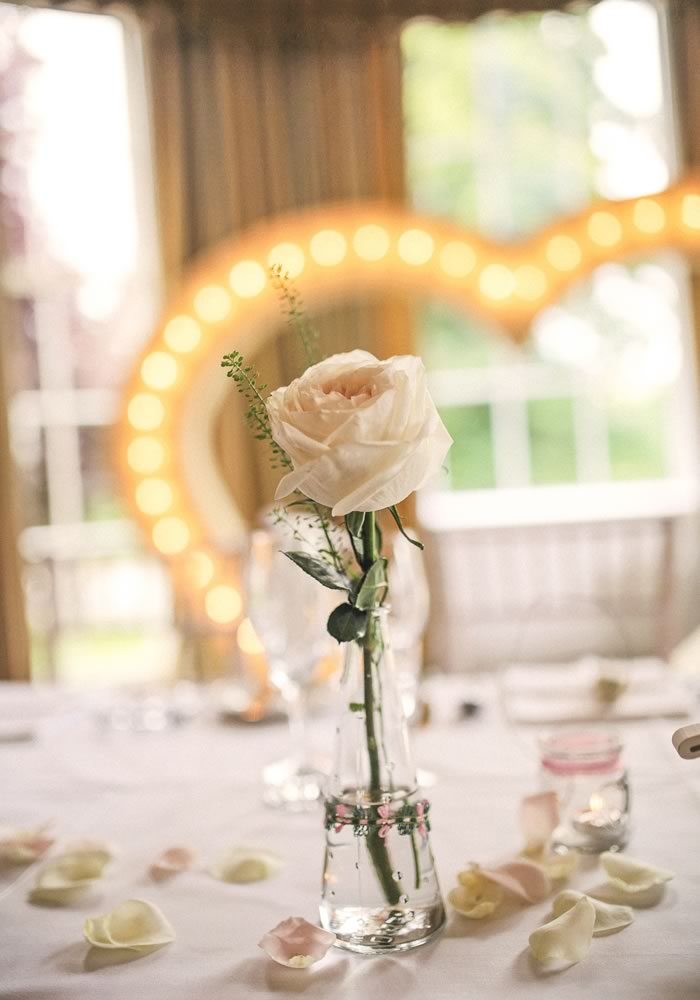 Soft romance and roses for Philippa and Sam's Harrogate wedding
