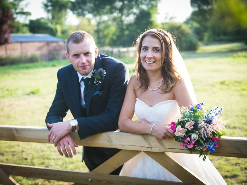 A colourful country wedding filled with fun ideas, bunting and handmade details for Sarah and Tom. Be inspired to get a beautiful big day on a budget - click to see more on the Wedding Ideas website!