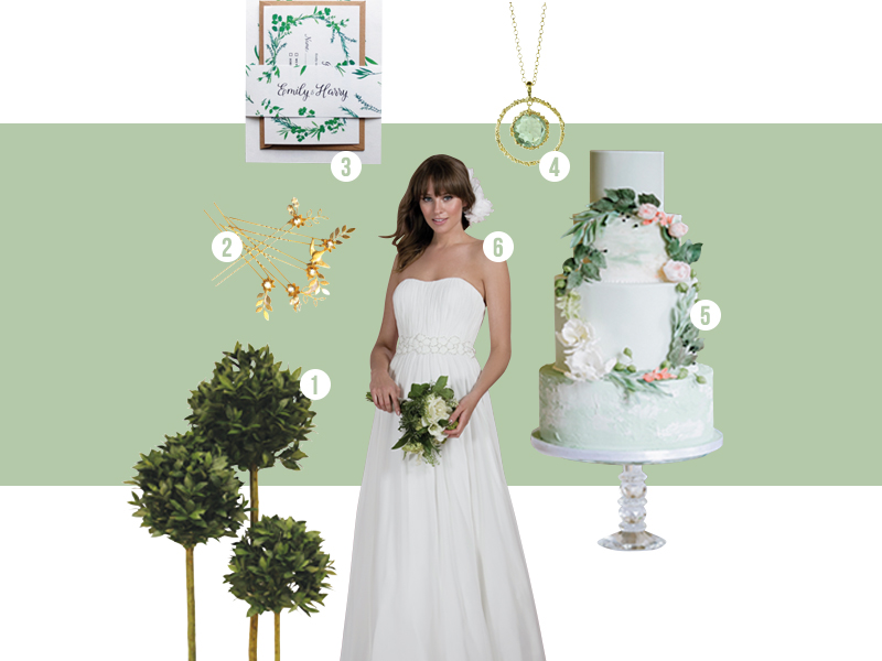 Go Grecian Goddess And Green For Our Favourite Theme From The July