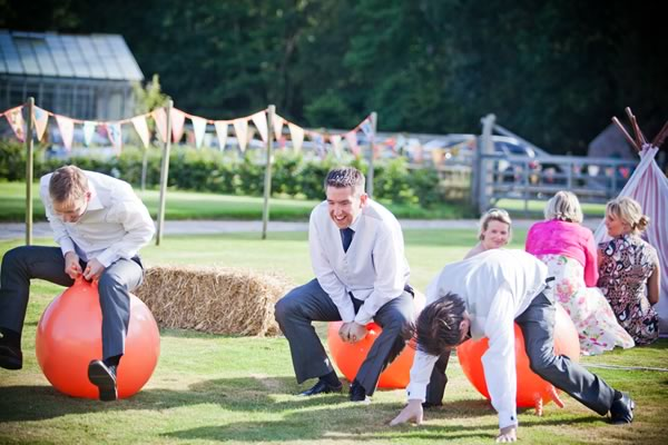 110 Wedding Entertainment Ideas That Will wow Your Guests space hoppers