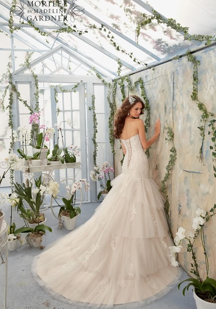 "Dream dresses for every season, so no matter when you choose to say ""I do"" you'll look and feel fantastic, just as every bride should!"