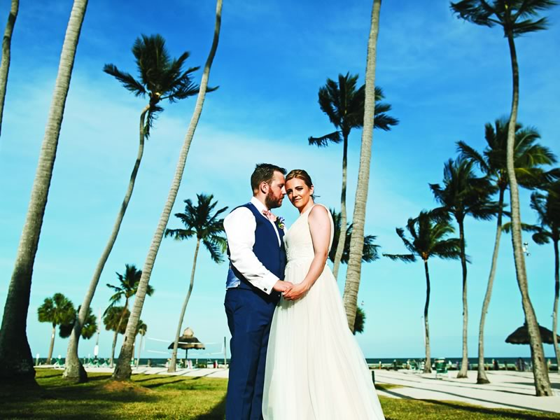 Look no further for your DREAM destination wedding! This lovely couple got married abroad beside the beach and sea in Florida - get a glimpse of our cover couple, who won their fantastic Florida Keys wedding in Wedding Ideas! You'll be dreaming of a Florida wedding forevermore...