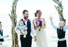 Get a glimpse of our cover couple, who won their fantastic Florida Keys wedding in Wedding Ideas! You'll be dreaming of a Florida wedding forevermore...