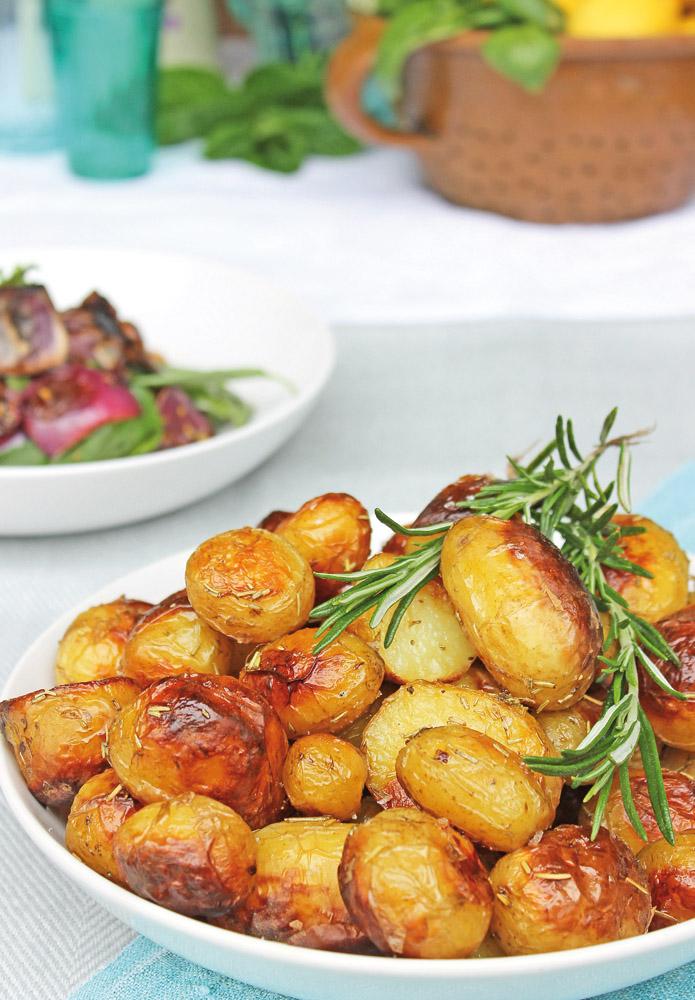 KempandKempcatering.co.uk Italian Food - Crispy Roast Potatoes in Rosemary Oil (5)