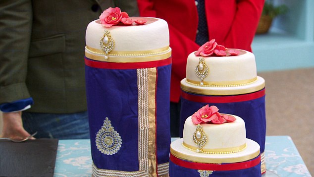 Great British Bake Off wedding cake
