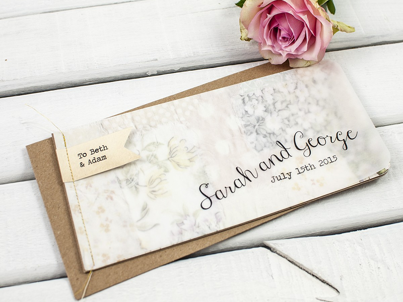 Norma&Dorothy share the latest wedding stationery trends to look out for plus their beautiful new collection to suit your wedding theme!