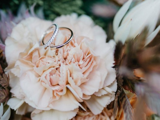 Top 5 Unique Wedding Bands for 2019 - colour ring