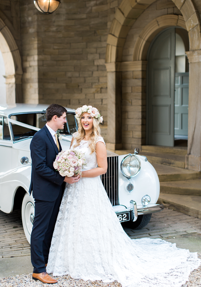A Vintage Luxe Pastel Wedding