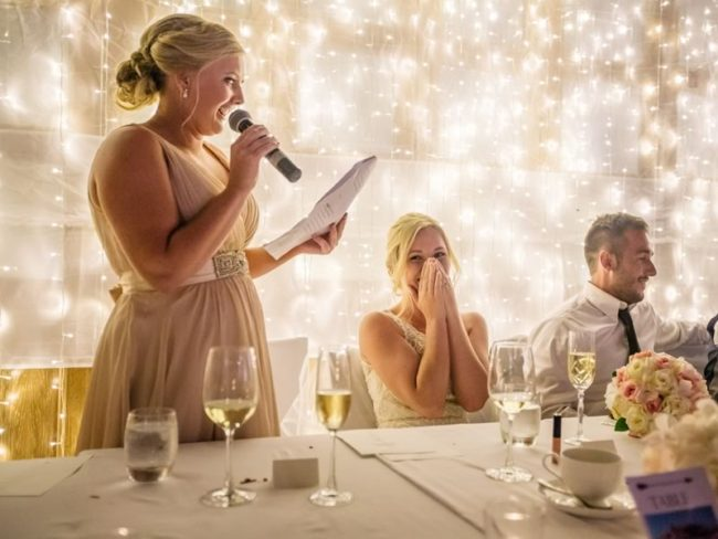 bride wedding speech tips to wow your guests