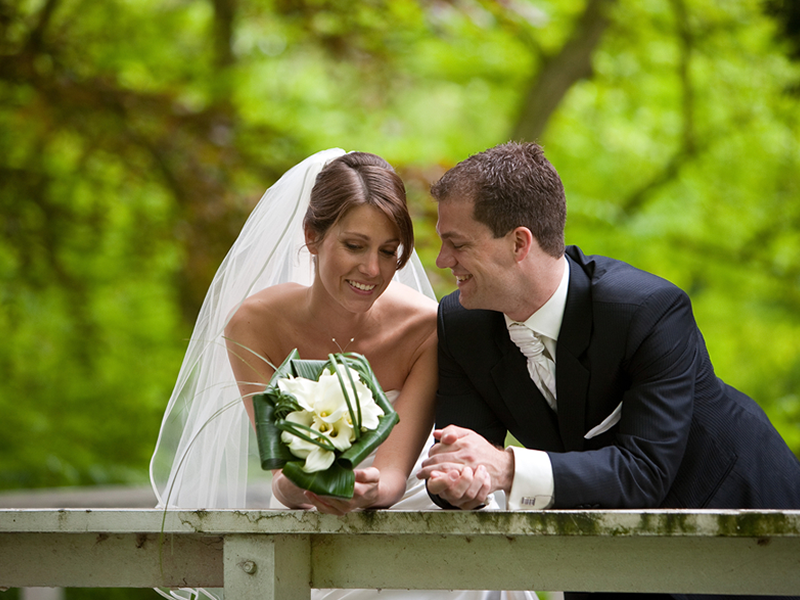 happiness at your wedding