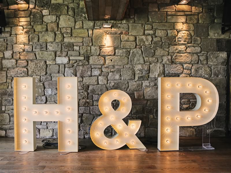 Make sure your venue is sparkling just as much as you are with these five shining ideas for wedding lighting to light up your dream day with!