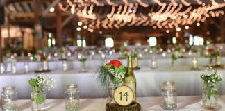 Dreaming of a charming country reception theme, full of romantic fairy lights and rustic details? We have all the picks you need to make it happen!