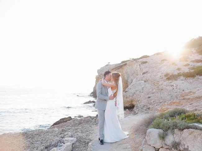 Jay, our beautiful cover bride from issue 165, and Lewis married in the most idyllic Ibiza wedding EVER! Be inspired by their dreamy details right here!