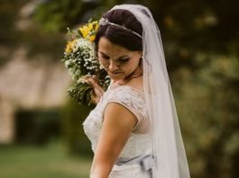Will you let your groom see your wedding dress before the big day, or will you stick to tradition and superstition, keeping it all top secret?