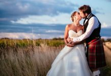 Be inspired by this timeless tartan wedding with navy and ivory colour accents for sophisticated Scottish style at your big day!