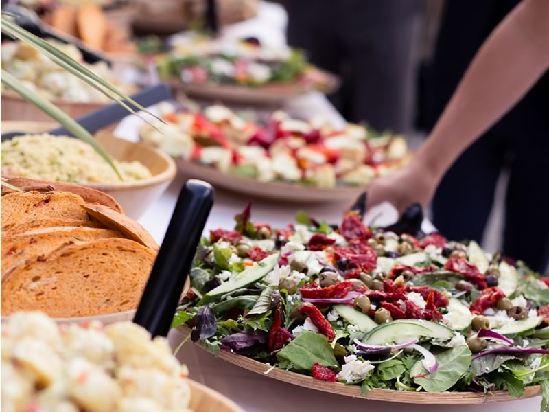 The all-inclusive A-Z list of wedding food and drink ideas so that you can savour a sensational wedding breakfast and cater to your budget and guests' needs