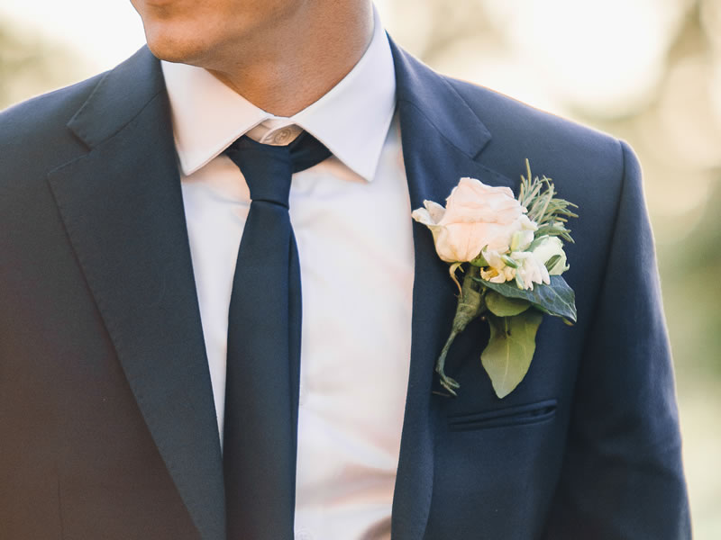 grooms buttonhole 12 Days of Wedding Planning: Grooms