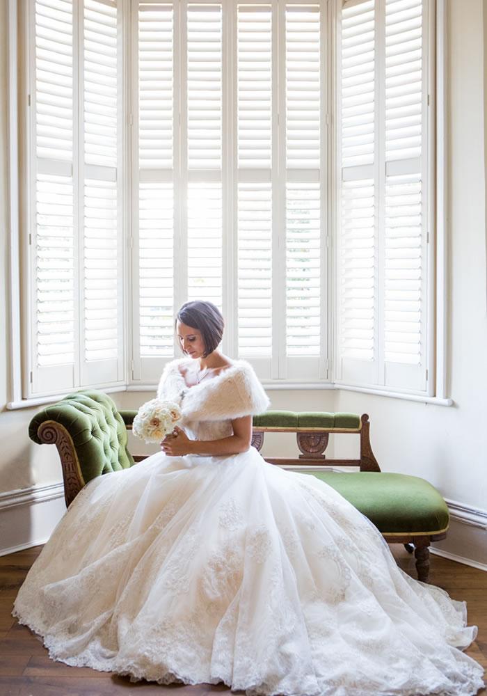 sitting bride 12 Days of Wedding Planning: Your Dream Dress