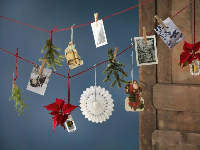Christmas wedding DIY decor ideas with Poinsettia