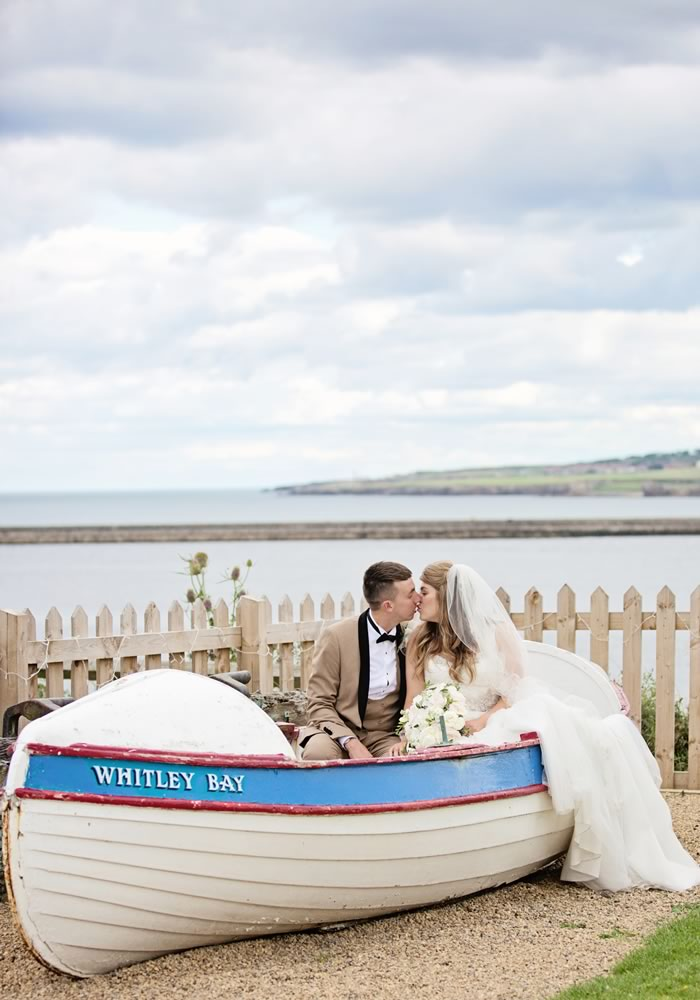 Be inspired by Rachel and Matthew's coastal wedding. Packed with nautical charm, beautiful decor details and the prettiest of photo ideas - you'll love it!