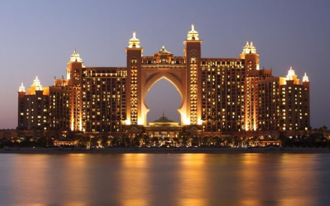 Dubai Atlantis Complex - 5 Unbelievable Luxury Honeymoons From Around the World