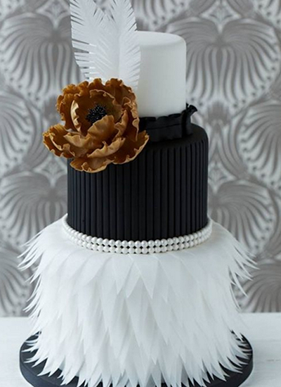 Black wedding cakes3