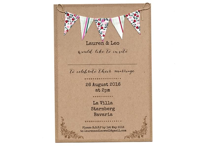 Cate Darcy, Boho Bunting collection
