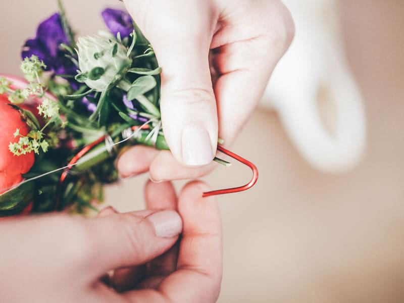 DIY flower crown 10