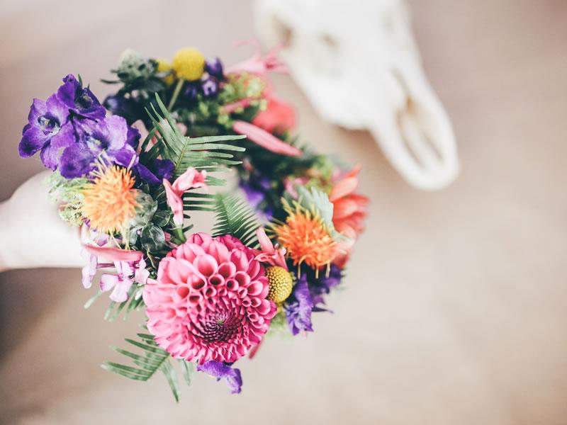 DIY flower crown 11