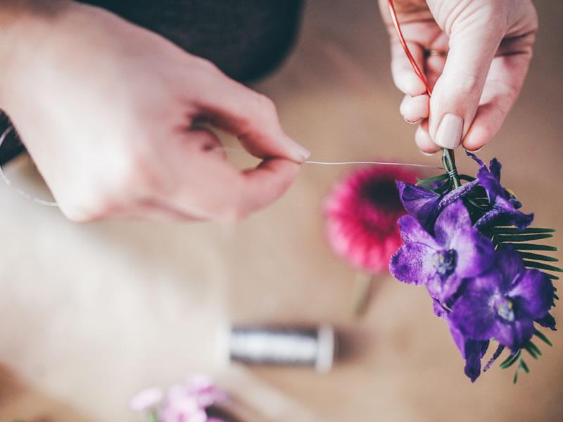 DIY flower crown 7