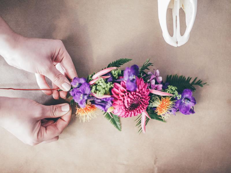 DIY flower crown 9