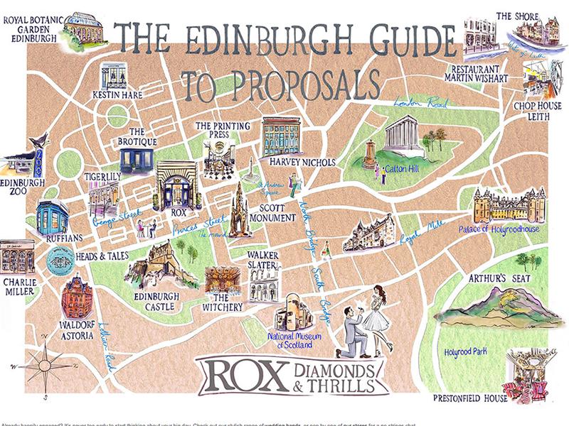 Edinburgh proposal map