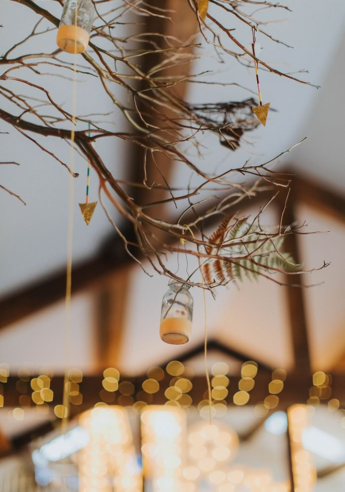 twig decor- Barn Wedding Decor and how to Style It