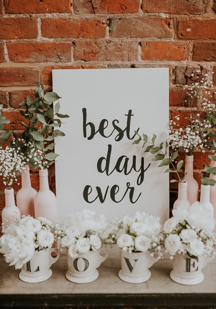 best day ever poster- Barn Wedding Decor and how to Style It