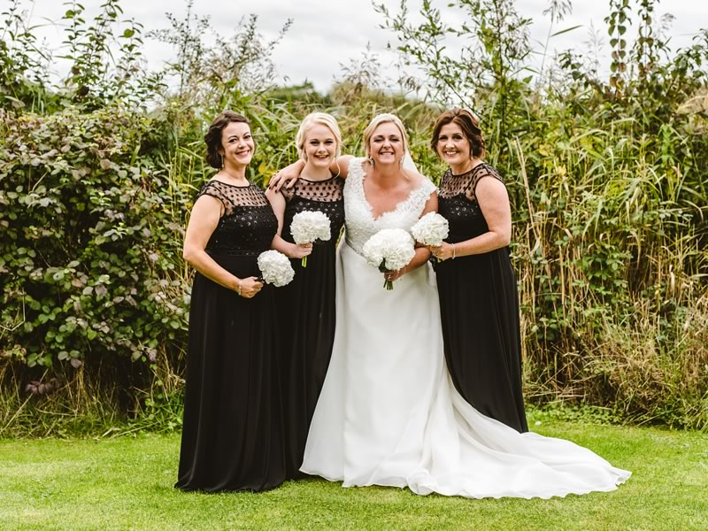 This glamorous wedding with a waterfront view had the bespoke touches to make it simply brilliant. Going black tie? Then make this your inspiration!