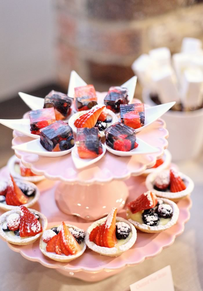 Inspired by a dessert table from one of our real weddings, we talk you through how to plan, fill and style your own. Bite-sized is best...