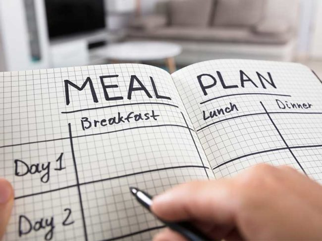 meal plan diary 5 Tips to Look Your Best on Your Wedding Day
