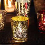 glass tea light holders - Barn Wedding Decor and how to Style It