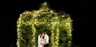 The most romantic wedding photographs are the ones with magical lighting - whether it's a bright summery haze, fairy lights or sunset...