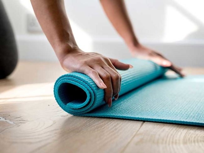 rolling yoga mat 5 Tips to Look Your Best on Your Wedding Day