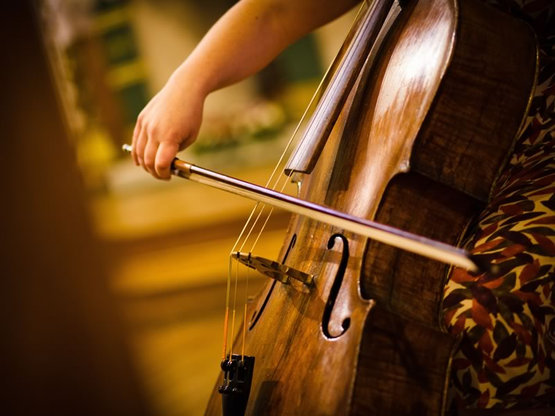 Just like movies are made by their soundtracks, so will your wedding be. Live wedding ceremony music will heighten all those amazing emotions!