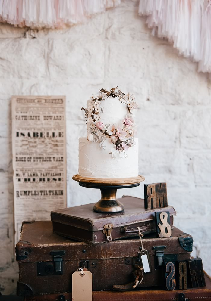 Embrace industrial chic decor for your modern wedding reception, it's raw but romantic look is perfect for warehouses, lofts and even converted barn venues!
