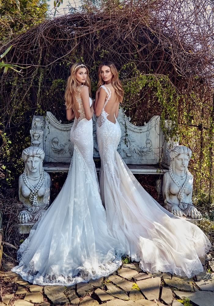 The elegant bride can look sexy too. These dresses create a tasteful, sexy silhouette for every bride, showing you can be traditional and fashion forward