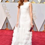 Darby Stanchfield in Georges Chakra | oscar.go.com