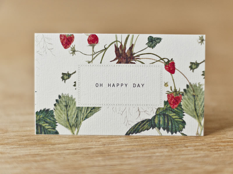 Stationery for spring 2