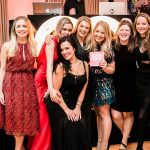 Glamorous ladies from The Wedding Shop
