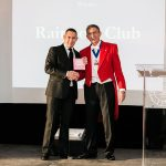 Richard Marsh from Rainbow Club accepted the award from Best Bridal Shoe Collection